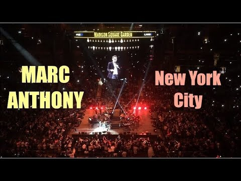 Marc Anthony LIVE in Concert at Madison Square Garden in NYC