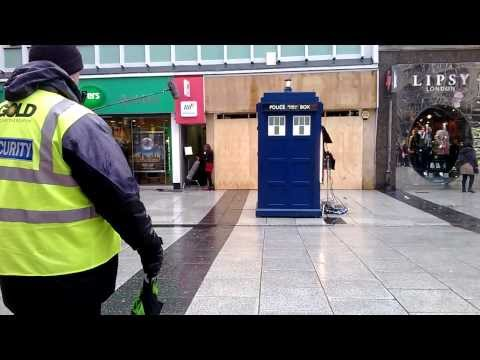 Doctor Who series 8 filming in Cardiff