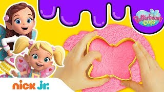 Slime Time: Playing w Slime &amp Cooking Tools Stay Home #WithMe  Butterbean&#39s Café  Nick Jr.