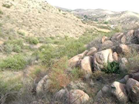 CA Gold Adventure Feb 2012 -- Prospecting Steele Peak Area For Gold