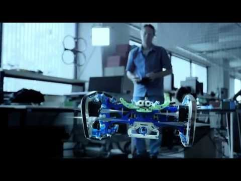 CES 2015:  The Qualcomm Snapdragon Cargo flying drone