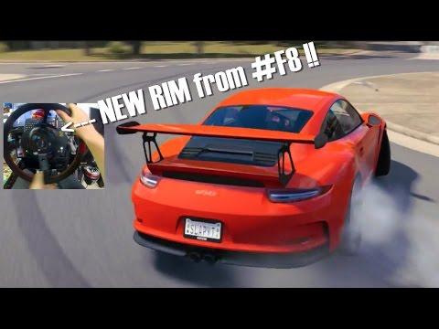 Forza Horizon 3 GoPro Porsche CAR PACK! w/Sim Steering NEW RIM + F8 Expansion?