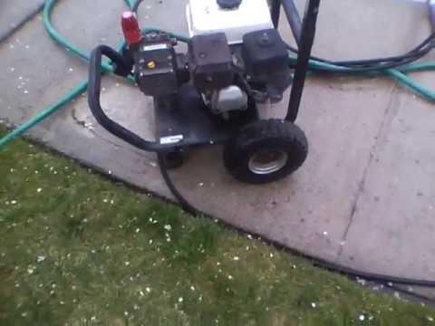 Water Driver Series Industrial Pressure Washer W Honda 5
