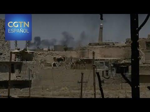 Fuerzas iraquíes continúan se avance en el enclave controlado por el Estado Islámico