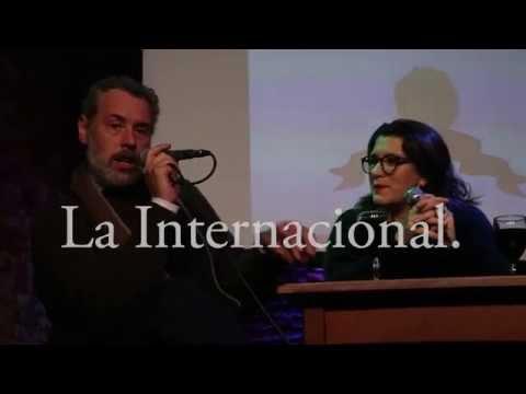 Café Los Chisperos empezó un ciclo de agenda popular de Entrevista Cynthia Garcia a Carlos Barragán