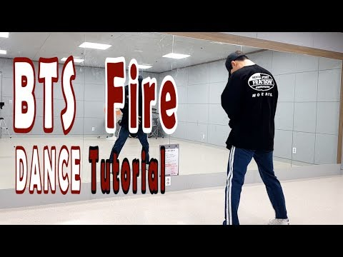 [Dance Tutorial] BTS - Fire (Count + Mirrored) 안무배우기