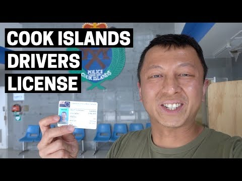 COOK ISLANDS DRIVERS LICENSE | Highlights of Rarotonga, Cook Islands capital
