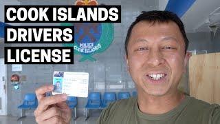 COOK ISLANDS DRIVERS LICENSE   Highlights of Rarotonga, Cook Islands capital