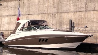 2014 Cruisers Yachts 350 Express Motor Yacht-Exterior, Interior Walkaround-2014 Montreal Boat Show