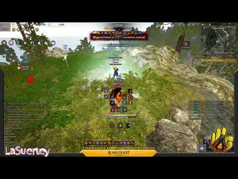[ ECAbu ] Arsha Black Desert Online SEA - Witch 3v1