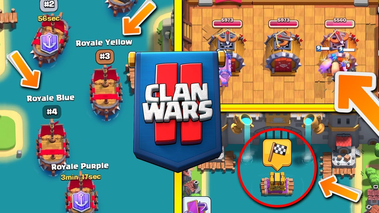 NEW CLAN WARS 2.0 UPDATE!! Boat Battles, PvE Mode, Duels & MORE!! - Clash Royale
