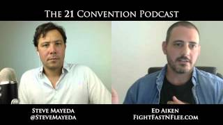 Ed Aiken on 21 Radio with Steve Mayeda | Full Length HD