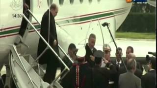 الرئيس عبد العزيز بوتفليقة يصل الى مطار بوفاريك