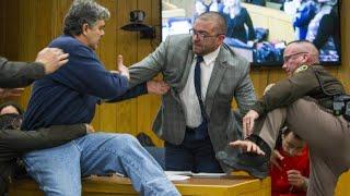 Missbrauchsprozess: Vater attackiert Ex-Turnarzt vor Gericht