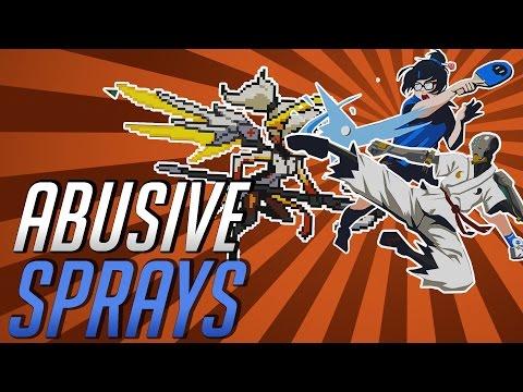 """Abusive Sprays""   Overwatch Mishaps 11"