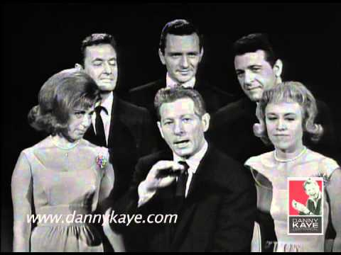 Danny Kaye and vocal chorus sing