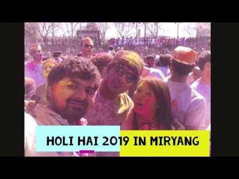 Extreme Fun - Holi Hai 2019 Festival in Miryang South Korea