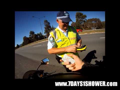 GSXR600 & Australian Police - They're not all bad