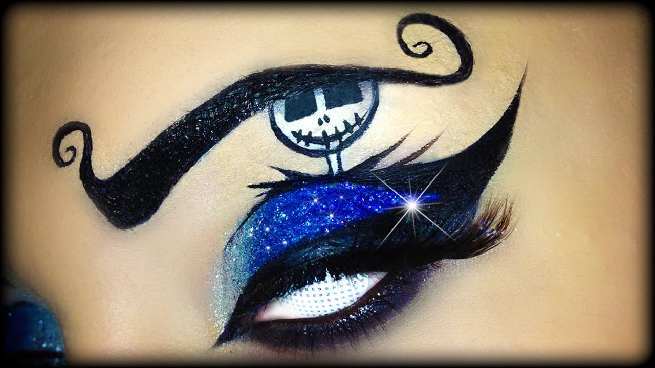 Easy Halloween Makeup Tutorial inspired by Jack Skellington ft ...