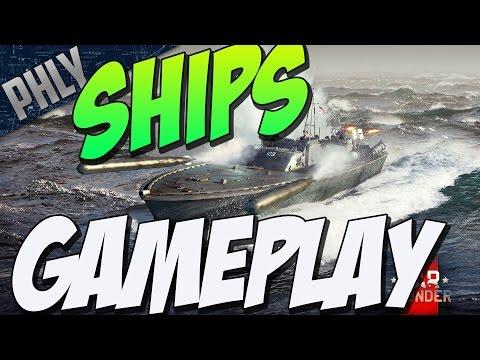 WAR THUNDER SHIPS GAMEPLAY (GamesCom 2016)