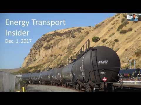 Energy Transport Insider video blog Dec  1, 2017