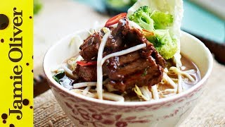 Beef Noodle Soup   Jamie's Money Saving Meals (2013)