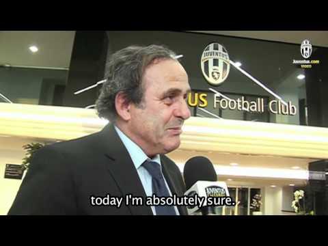 Michel Platini allo Juventus Stadium - Michel Platini at Juventus Stadium