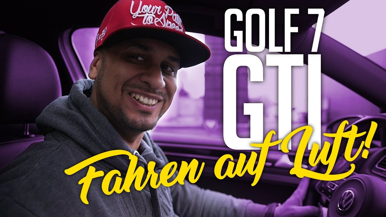 jp performance golf 7 gti fahren mit einem luftfahrwerk youtube. Black Bedroom Furniture Sets. Home Design Ideas