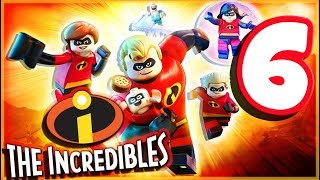 LEGO Incredibles Walkthrough Part 6 Screenslaver Showdown! (PS4 Pro) co-op Gameplay