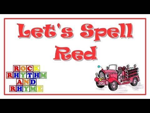 Color Songs - Let's Spell Red