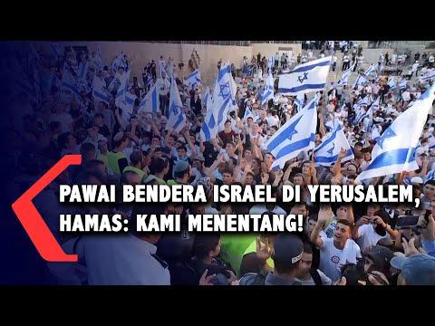 Pawai Bendera Israel di Yerusalem, Hamas: Ini Memprovokasi Perasaan Rakyat Palestina