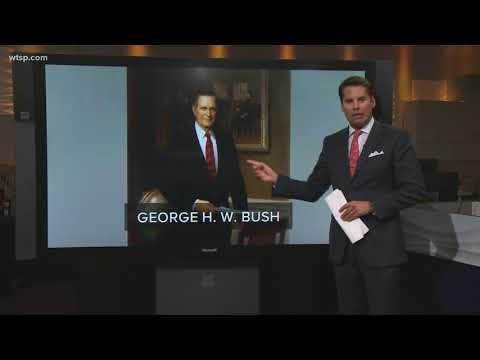 examining-presidents-portraits-at-the-white-house