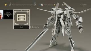 NieR: Automata Flight Unit Type-B Theme - Ps4 Theme [Free Ps4 Theme]