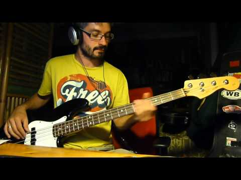 Bob Marley - Is This Love - Bass Cover - HD