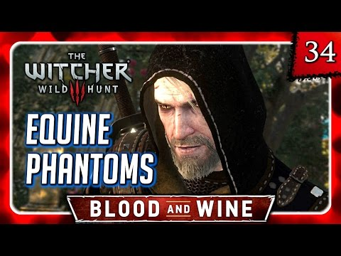 Witcher 3 🌟 BLOOD AND WINE 🌟 Equine Phantoms - The Umbra Spirit, also Roach Speaks #34