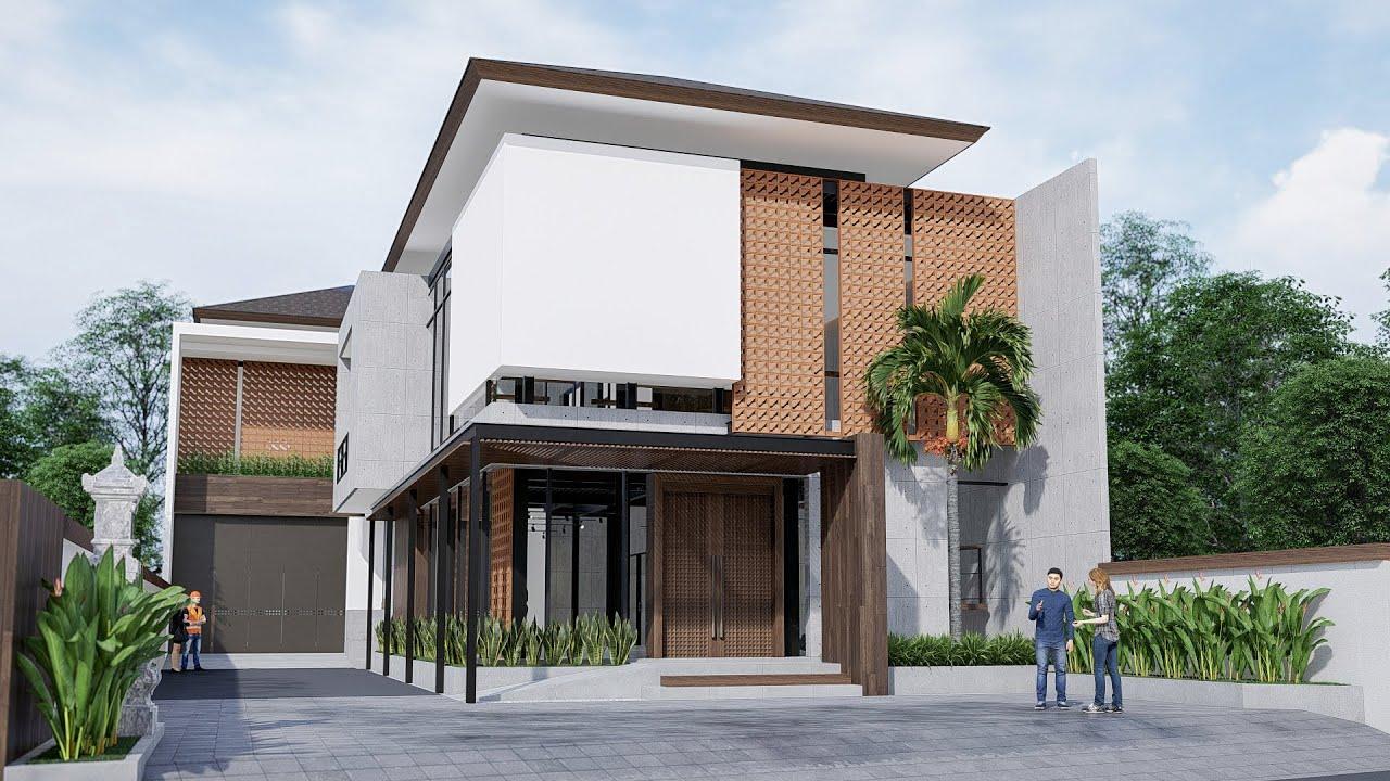 Gerai Perlengkapan Rumah Bergaya Industrial Tropis || Project Showreel