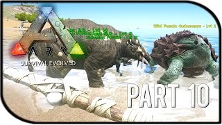 "ARK: Survival Evolved Gameplay Part 10 - ""Dinosaur Hunting!"""