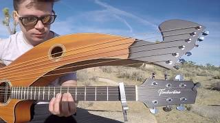 Turn The Page Bob Seger Metallica Harp Guitar Cover