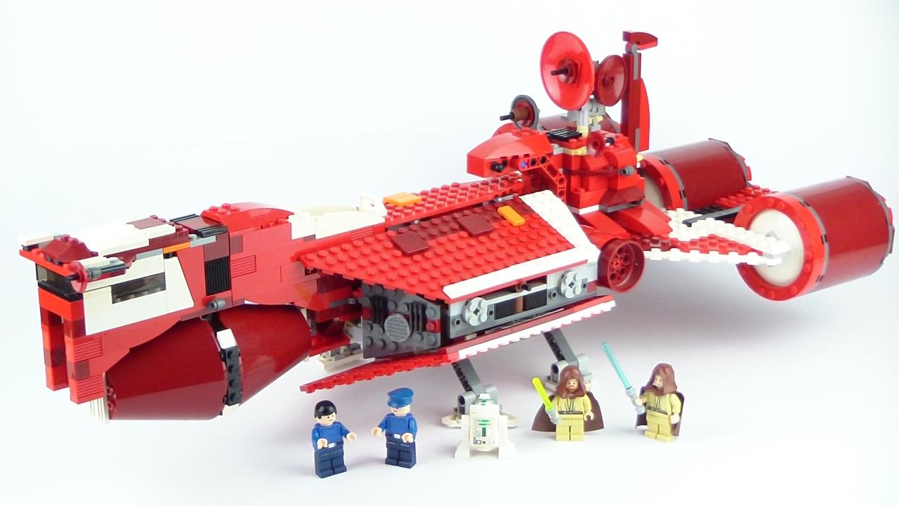 LEGO Star Wars: Republic Cruiser 7665 Review !!! -2007 ...