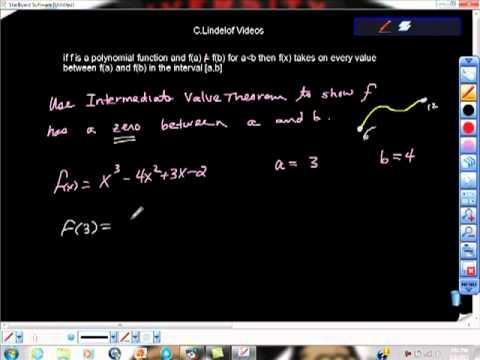 Intermediate value theorem khan