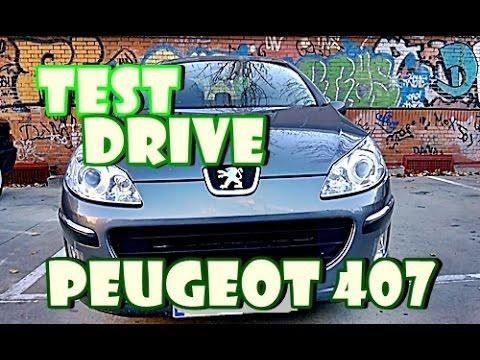 Test Drive | Peugeot 407 2.0