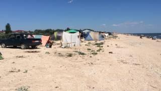 Азовское море(Отдых с палатками на азовском море., 2016-06-06T22:16:34.000Z)