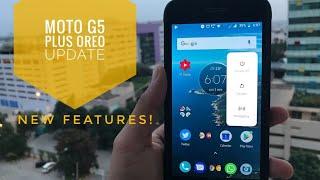 Moto G5 Plus Oreo update | What's New?