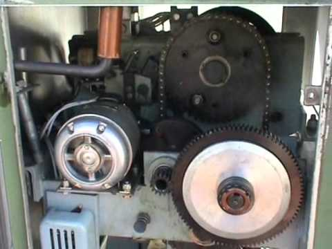 ASEA 66 kV minimum oil breaker mechanical box.wmv