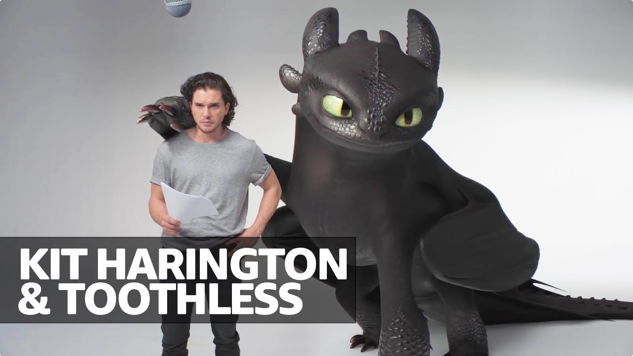 Kit Harington's Audition Tape for 'How to Train Your Dragon'