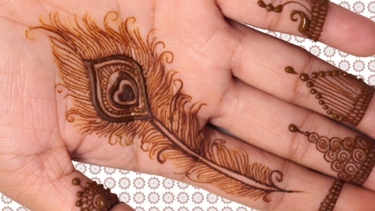 Mehndi Design for Hands , Mayurpankh , Henna Design 2018