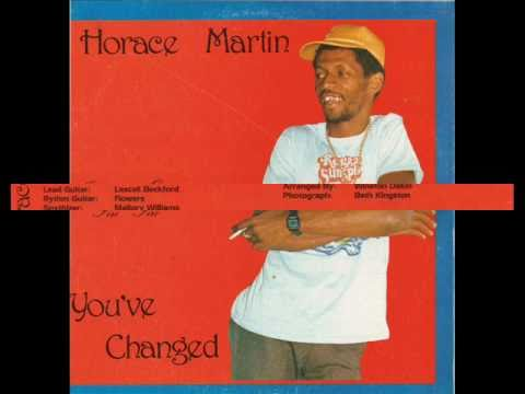 Horace Martin - You've Changed (You've Changed - 1986)