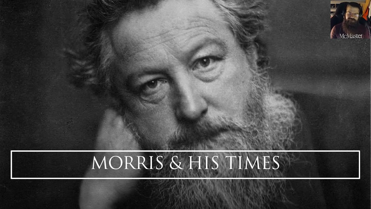 """Image for """"The Whole Scheme of the Book:"""" William Morris and the Kelmscott Press webinar"""