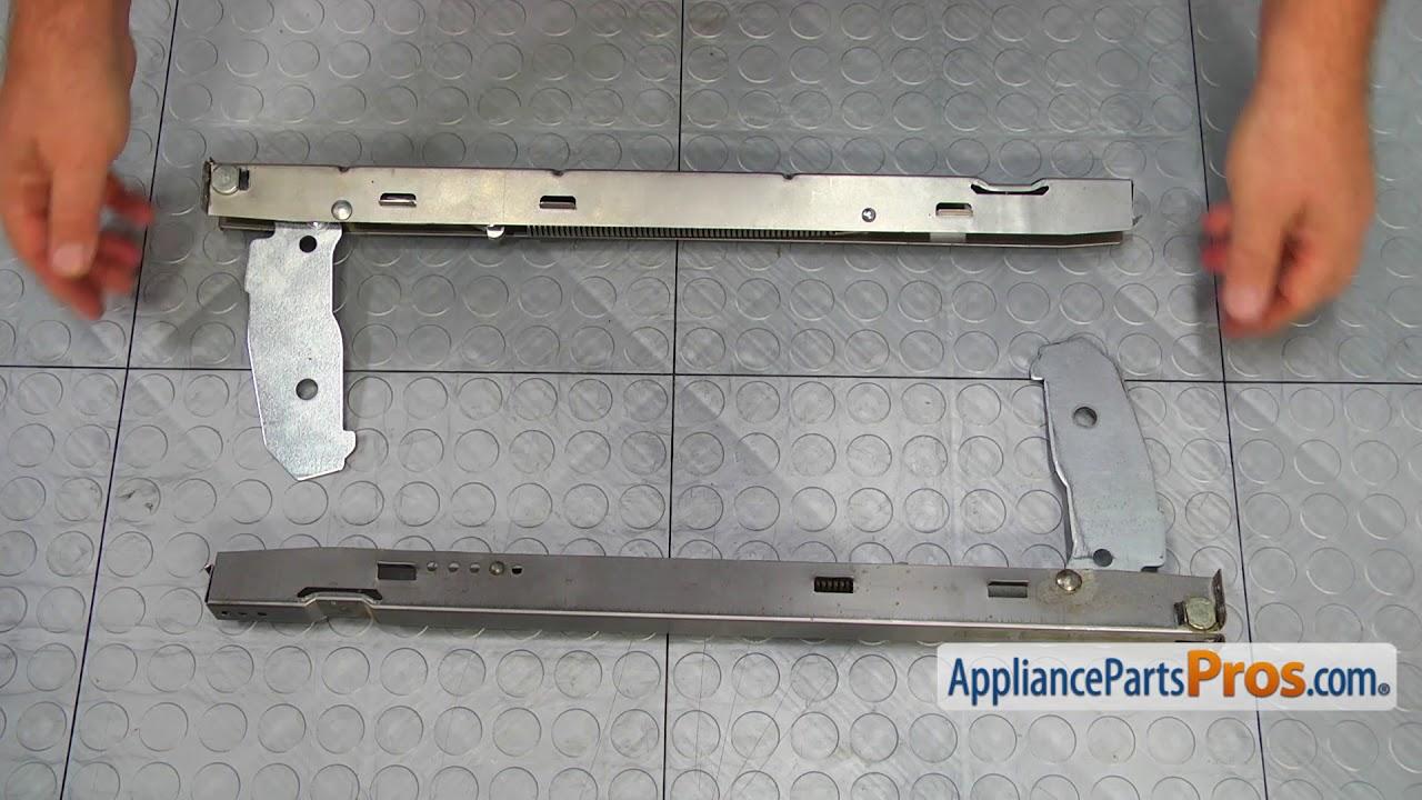 Range Oven Door Hinge Part Wp9782033 How To Replace
