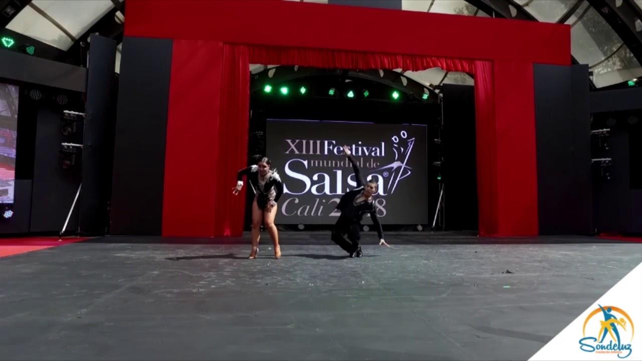 Melanny Galeano y Jorge García Eliminatorias Festival Mundial de Salsa